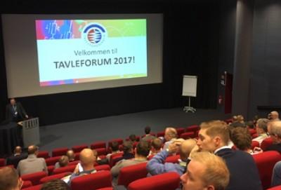 100 deltakere fant veien til TAVLEFORUM