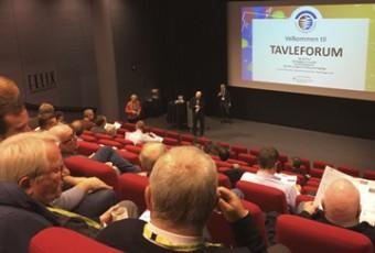 60 deltakere fant veien til Tavleforum 8. desember 2016