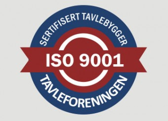 ISO-sertifisert tavlebygger